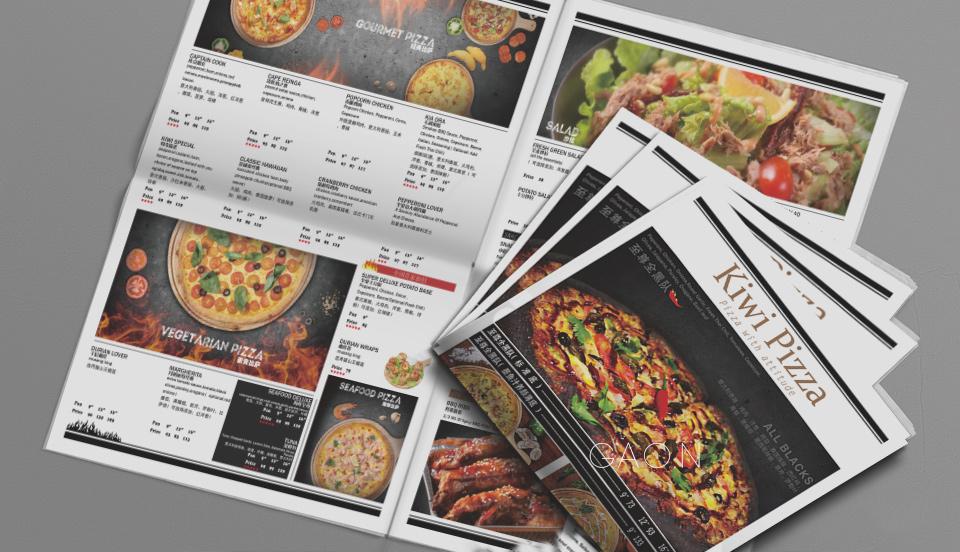 深圳纽奇披萨视觉设计与全国店面策划