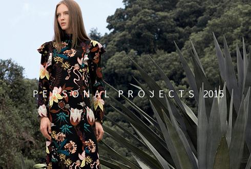 2016服装外景拍摄 模特MARINA