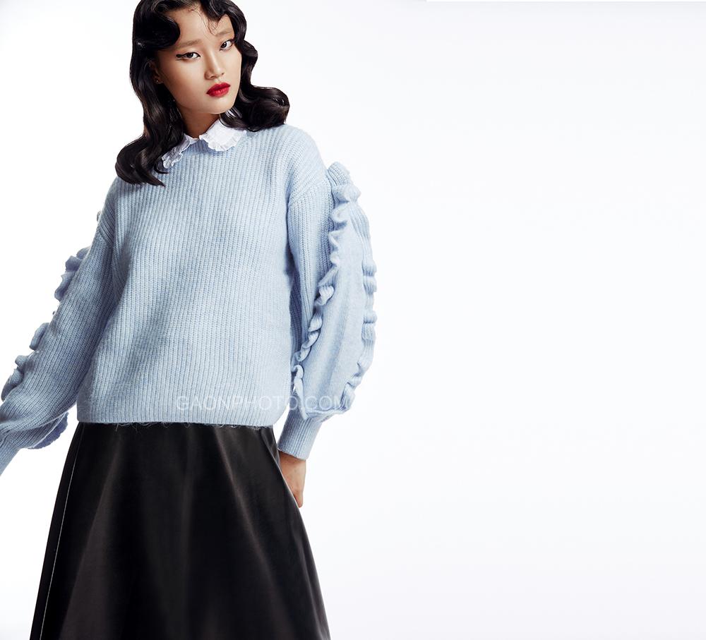 高恩广告中国模特